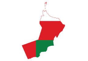 About Oman - Oman map png